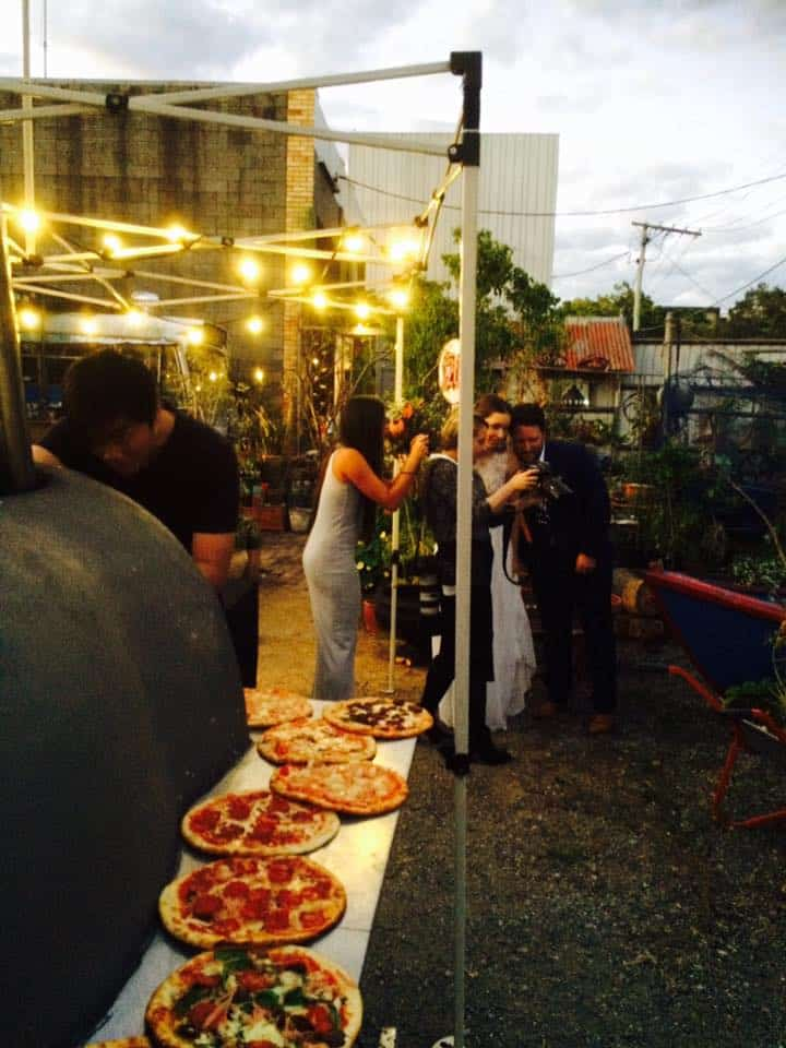 Briz Wood Fired Pizza Event Catering Brisbane Gallery