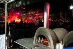 wood fire pizza oven - Pizza Catering Brisbane